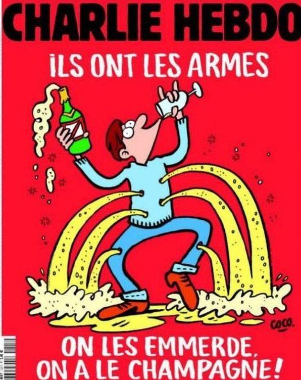 Foto: Portada de 'Charlie Hebdo' que sale este miércoles