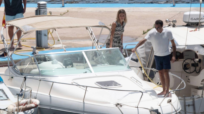 Enrique Ponce y Ana Soria en Almería hace unos días. (Gtres)