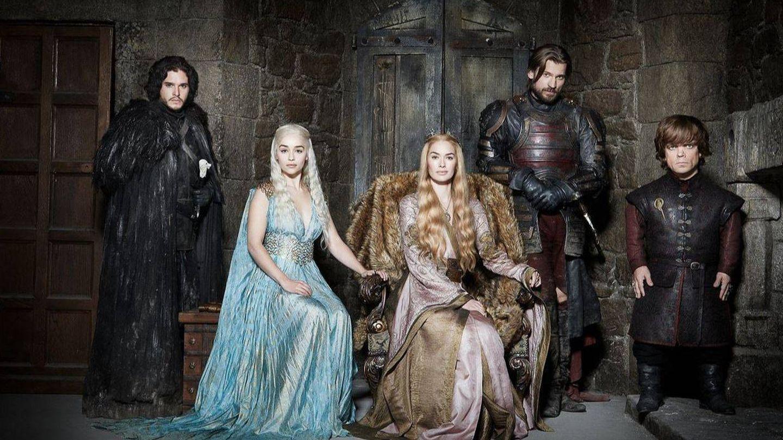 Parte del elenco protagonista de 'Juego de Tronos' (HBO)