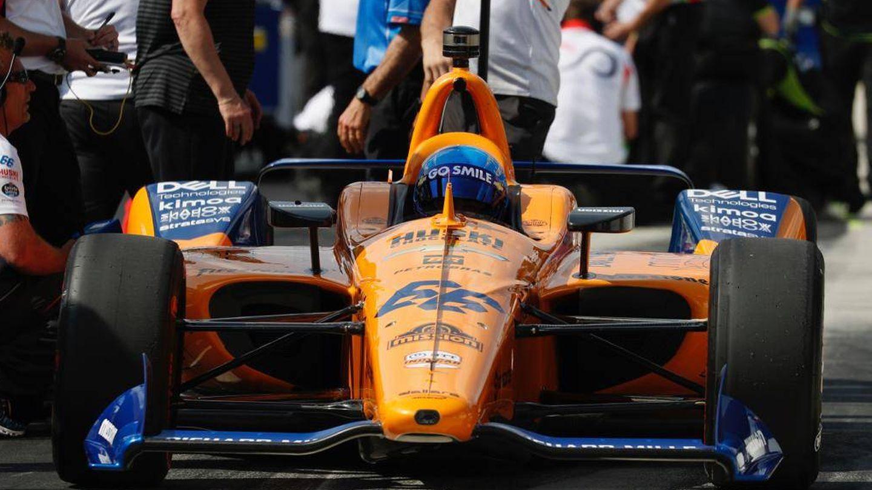 Fernando Alonso no se metió entre los 33 clasificados para las 500 Millas de Indianápolis. (Foto: McLaren)