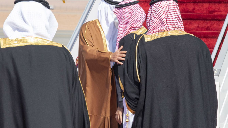 El abrazo que entona el réquiem del fallido boicot a Qatar