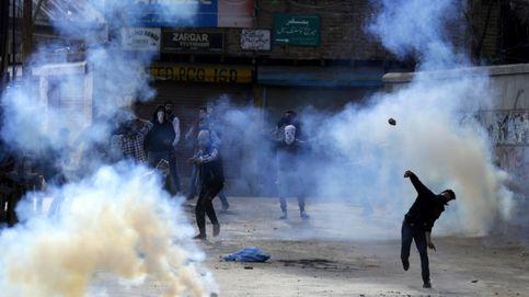 Protestas en Cachemira
