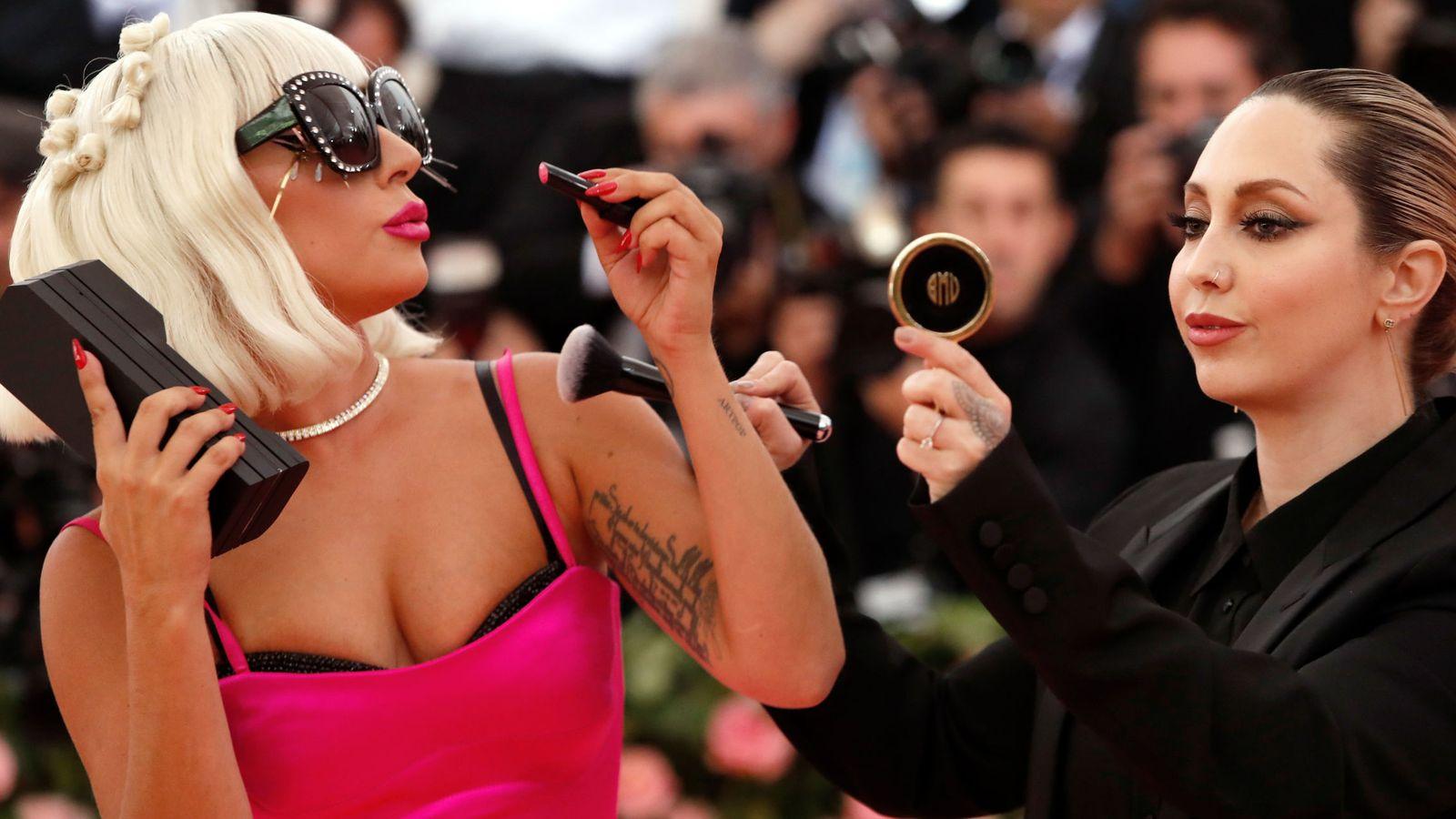 Foto: Lady Gaga a su llegada la gala del MET de 2019. (Reuters)