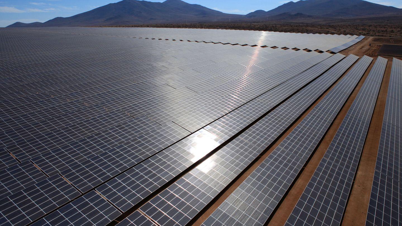 Foto de recurso de una planta fotovoltaica. (EFE)
