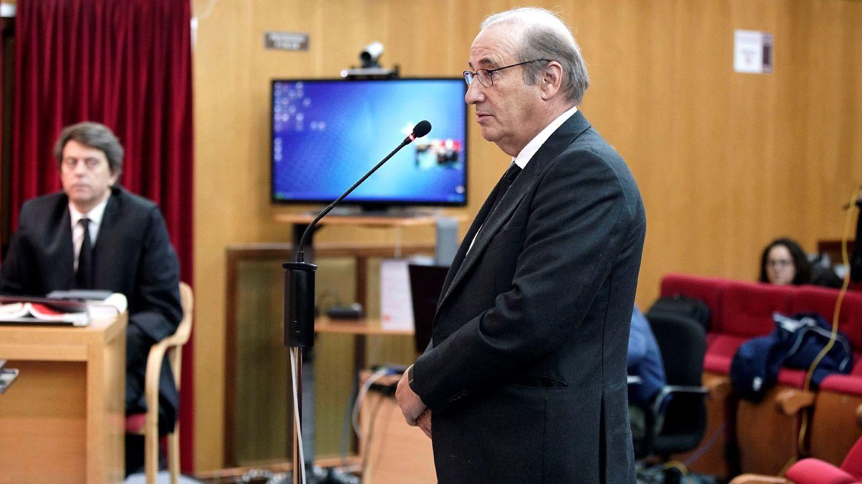 Francisco Franco Martinez-Bordiú, durante su declaración en un juzgado de Teruel. (EFE)