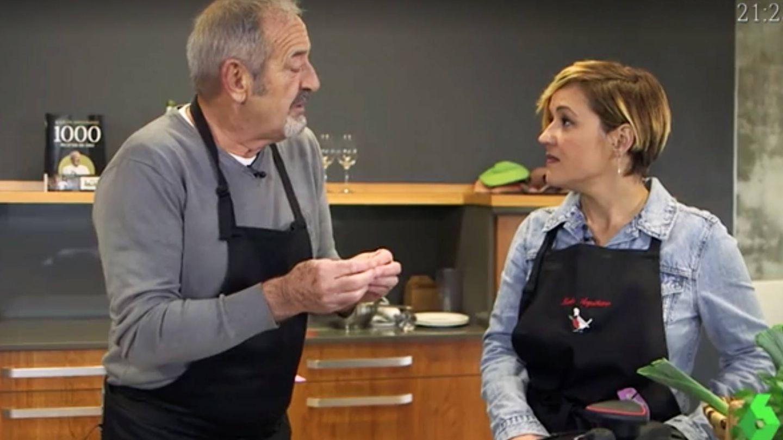 Cristina Pardo entrevista a Karlos Arguiñano en 'Liarla Pardo'. (Atresmedia)