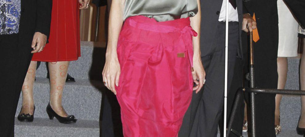 El vestido de 39,95 euros que Letizia compró en Zara