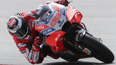 La nueva sonrisa de Jorge Lorenzo: el más rápido y con una Ducati a su medida