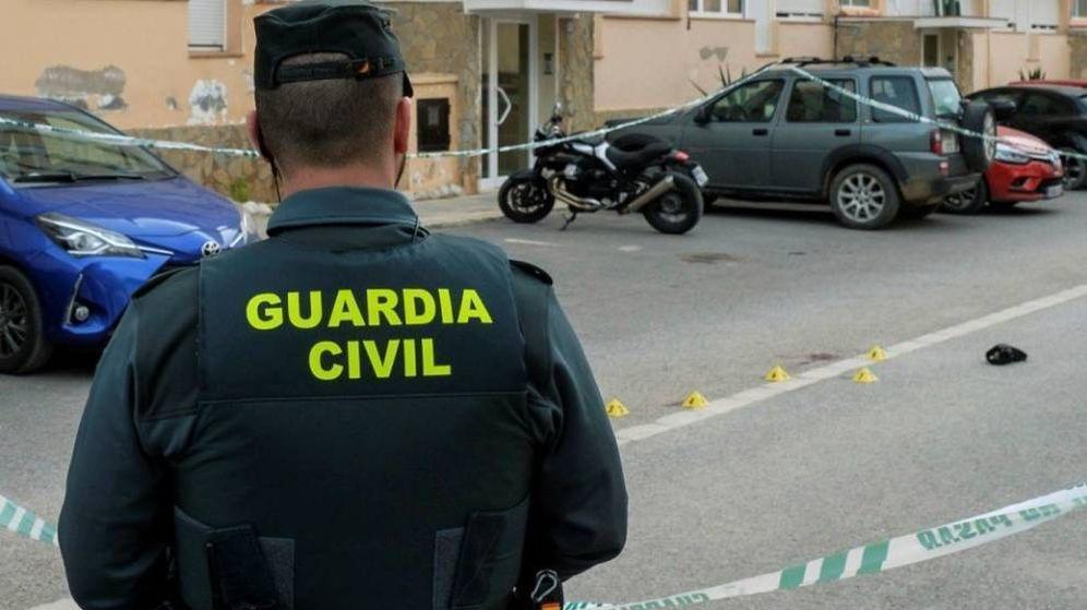 Foto: Un agente de la Guardia Civil, en un operativo. (EFE)