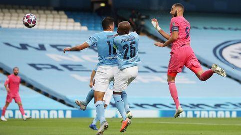 Manchester City - Real Madrid en directo: Benzema empata el partido de cabeza (1-1)