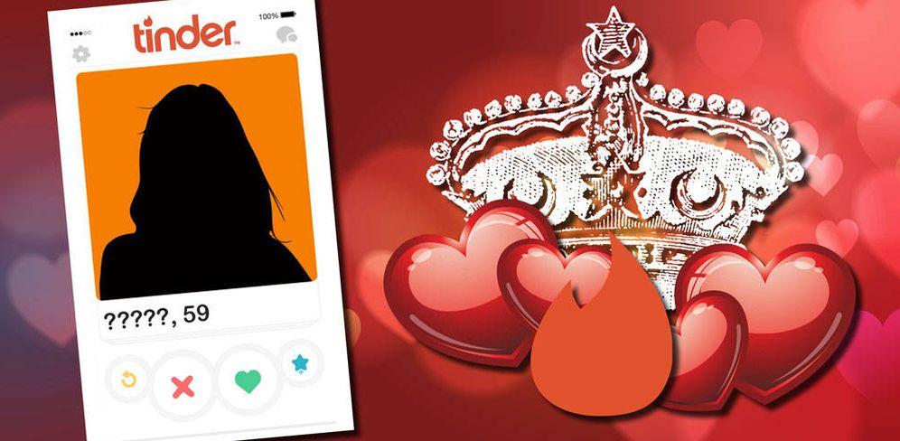 Foto: ¿Quién será la Borbón que busca el amor en Tinder?