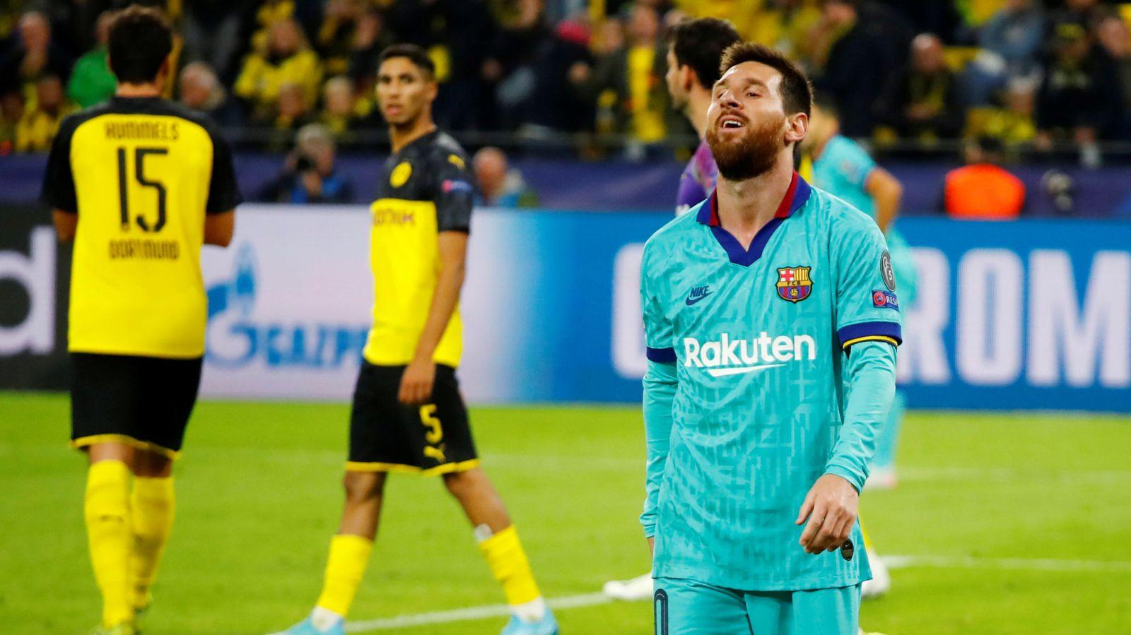 Foto: Champions league - group f - borussia dortmund v fc barcelona