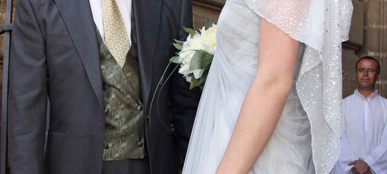 Foto: Imagen de Eugenia el día de su boda, junto a su padre Bertín Osborne (I.C.)