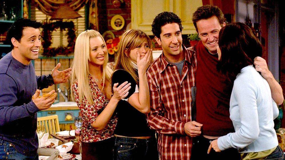 Foto: Un fotograma de 'Friends'.