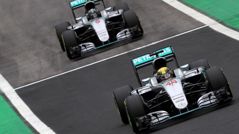 Rosberg y Hamilton se han repartido los títulos desde el 2014. (EFE)