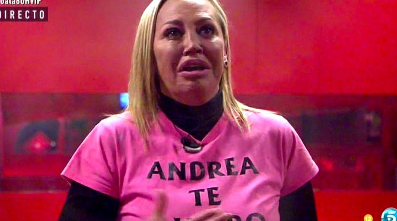 Foto: Belén Esteban durante la gala de 'GH VIP' (Telecinco)