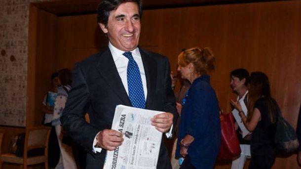 Foto: Urbano Cairo, nuevo presidente y consejero delegado de RCS. (Foto: LaPresse)