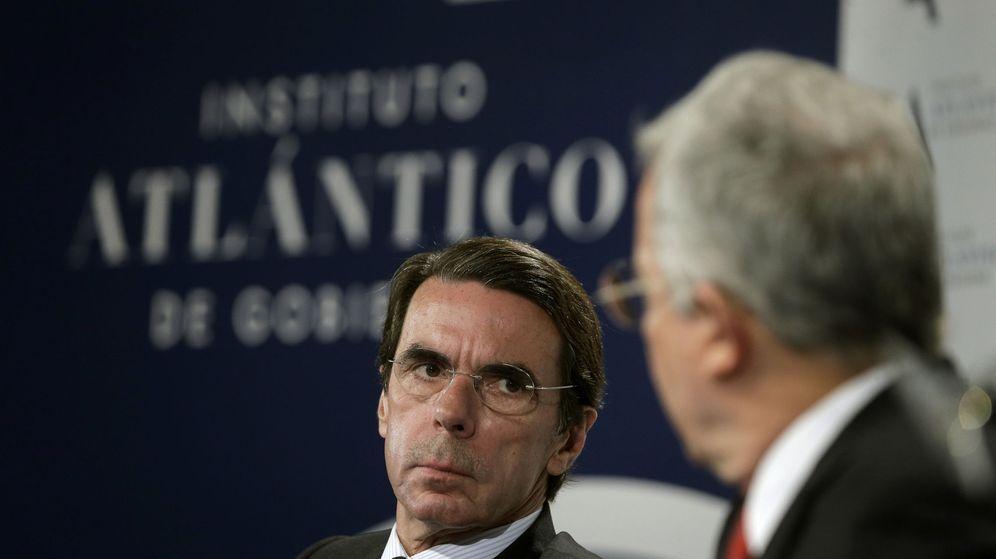 Foto: El expresidente del Gobierno, José María Aznar. (EFE)