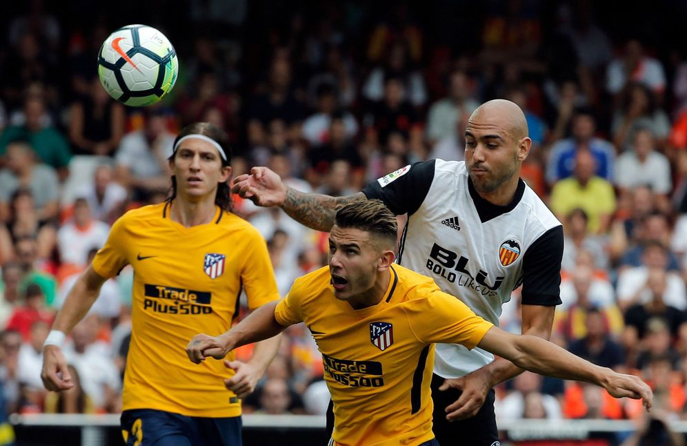 Foto: Imagen del Valencia-Atlético de Madrid de la primera vuelta. (EFE)