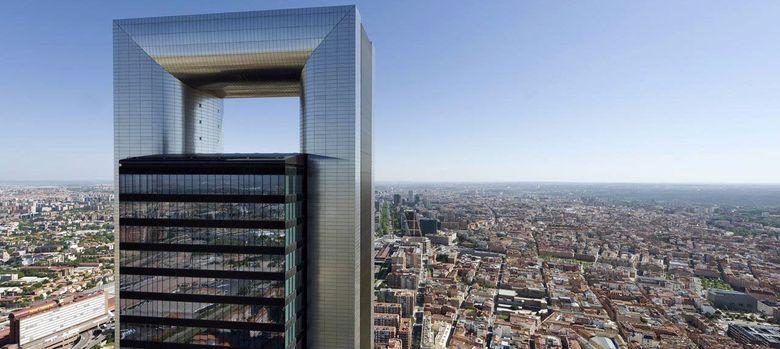 Foto: Imagen de la Torre Foster, propiedad de Bankia.
