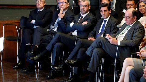 Los vips del acto de Sánchez: de Pallete, Florentino y Galán... hasta 'los Javis'