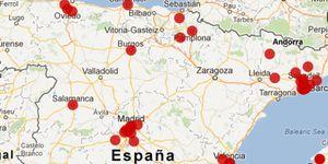 El mapa del talento deportivo español
