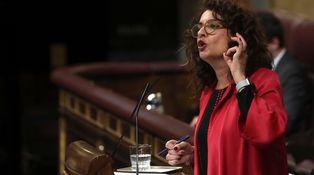 Montero hace de Sánchez: 'indepes' y la derecha son la misma cosa