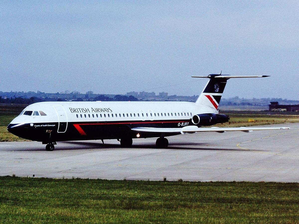 Foto: G-BJRT, el avión involucrado en el accidente (Wikipedia)