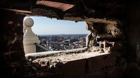 El Edificio España, desde dentro