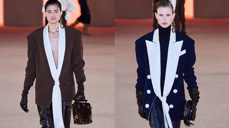 Diseños de Balmain en la Semana de la Moda de París. (Imaxtree)