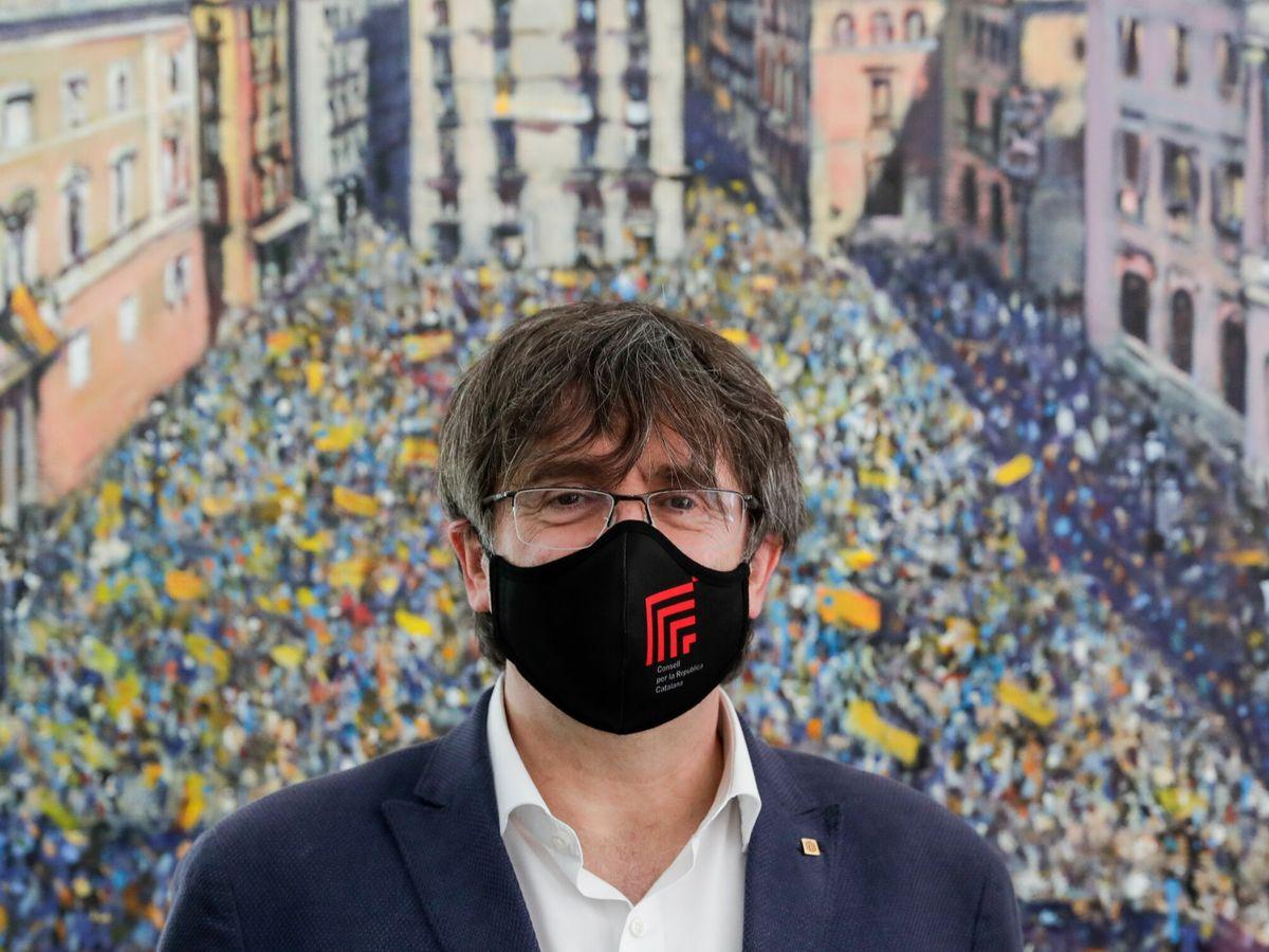 Foto: El 'expresident' de la Generalitat, Carles Puigdemont. (EFE)