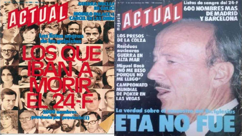 ¿Matar a Cela, Aute y Cebrián? La lista de fusilados del 23-F fue un montaje del PSOE