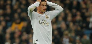 Post de La destrucción de James en el Real Madrid o el sistema que le deja fuera