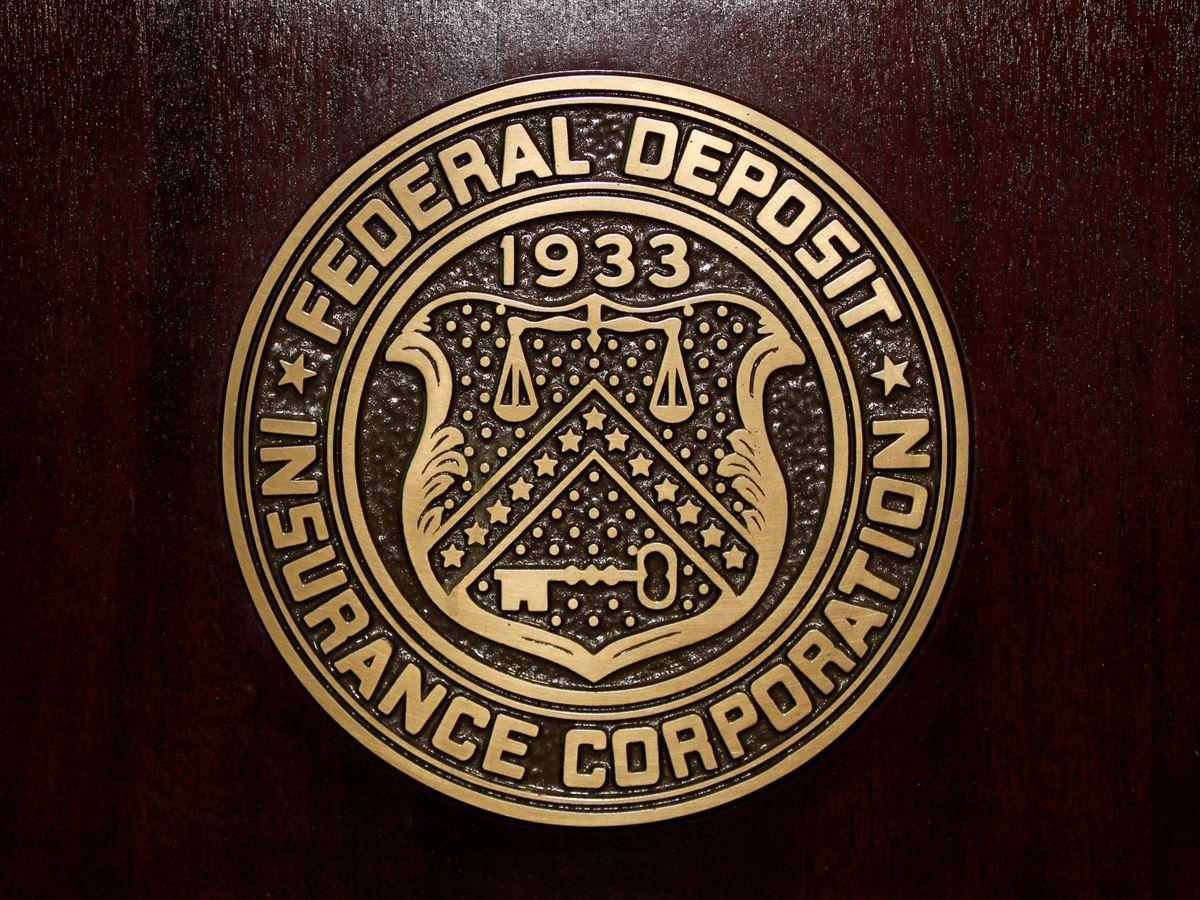 Foto: Logo de la Agencia Federal de Garantía de Depósitos de EE.UU (Reuters)