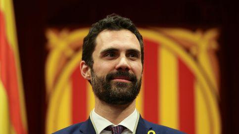 Torrent sorprende con un discurso que habla de coser la sociedad catalana
