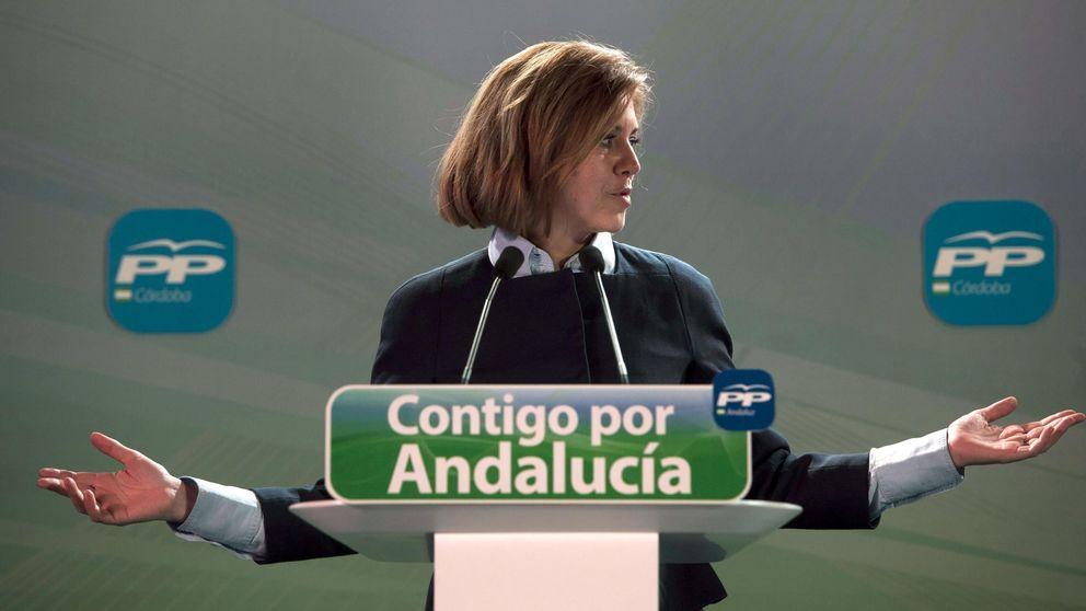 Las mujeres del PP asaltan la campaña andaluza
