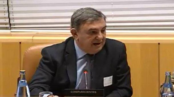Foto: Adolfo Fernández Maestre, cuando compareció en la Asamblea de Madrid en noviembre de 2016. (EFE)