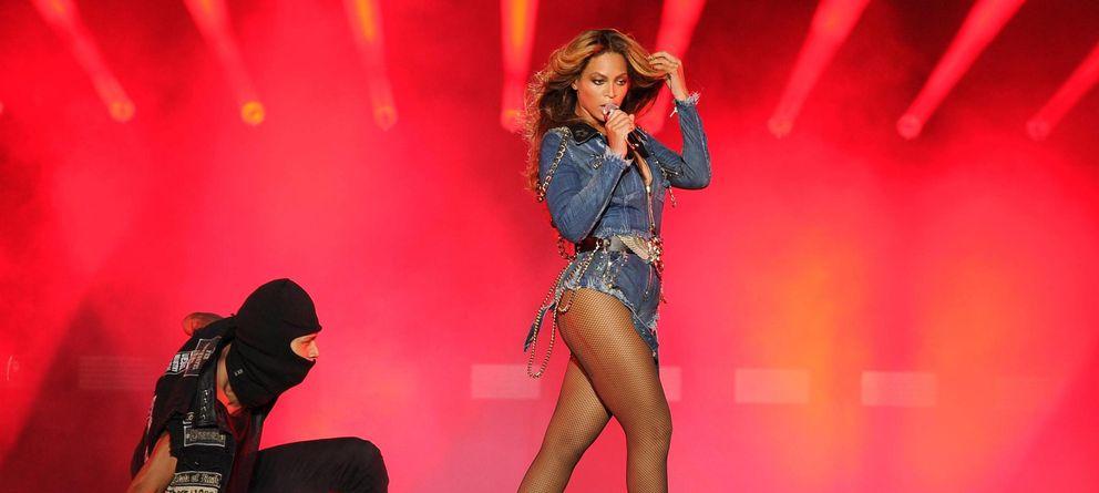 Foto: Beyonce en un reciente concierto en Miami (Gtries)