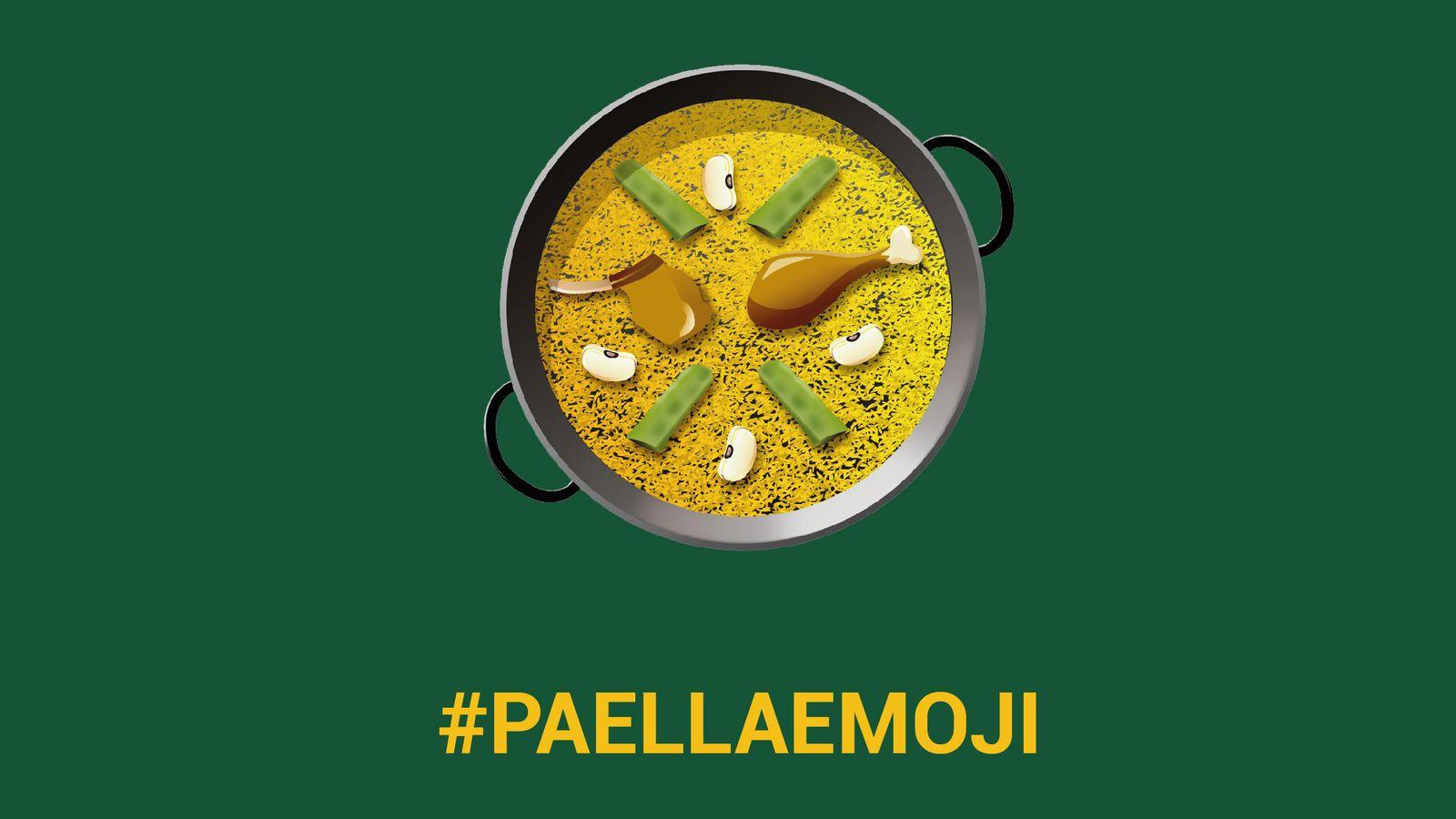 Foto: #PaellaEmoji, la iniciativa en redes sociales impulsada por el cómico Eugeni Alemany