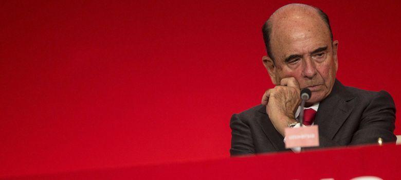 Foto: El presidente del Banco Santander, Emilio Botín