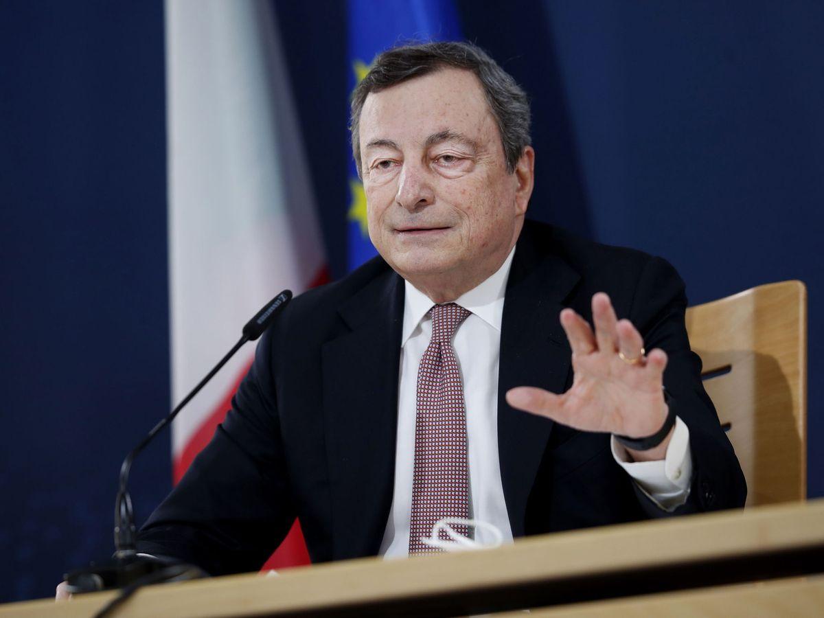 Foto: El primer ministro italiano, Mario Draghi. (EFE)