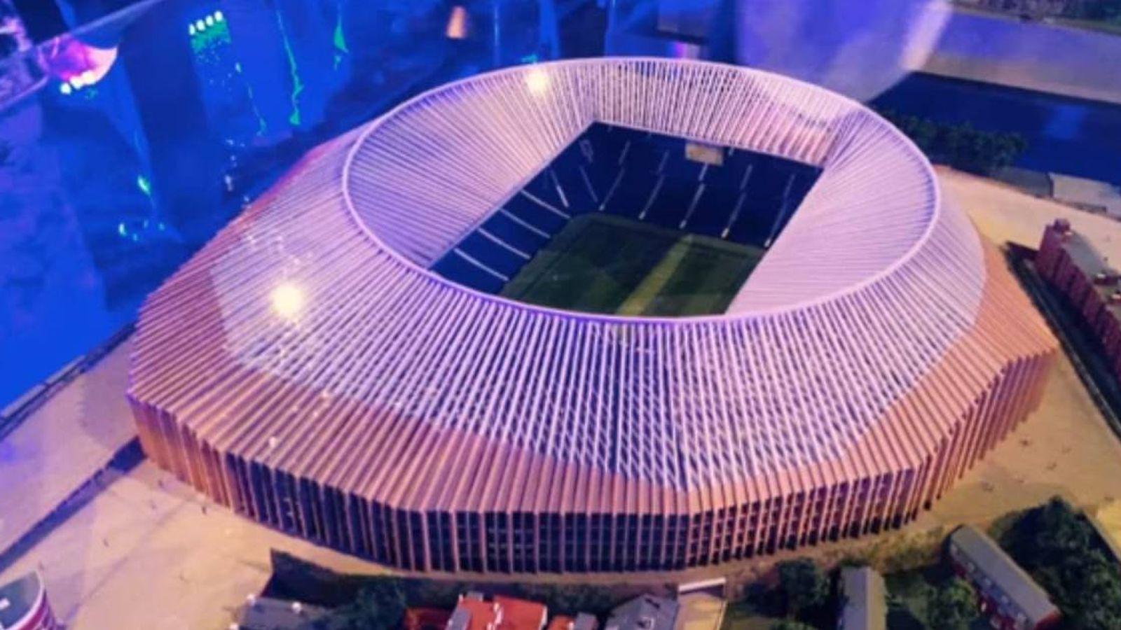 Foto: Imagen exterior del nuevo Stamford Bridge.