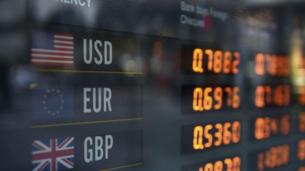 Foto: Mercado de divisas (Reuters)