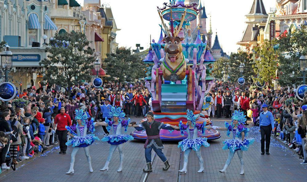 Foto: Cabalgata del parque Disneyland París. (Cortesía de Disney)