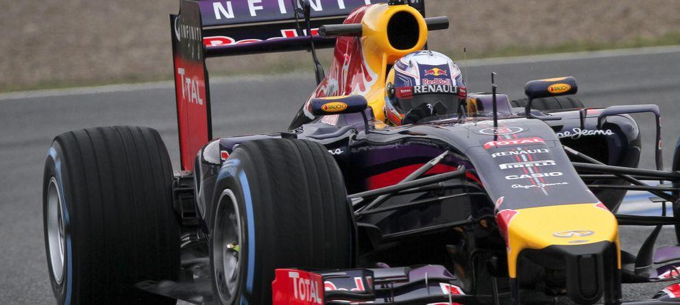 Foto: Daniel Ricciardo en esta pretemporada en la que poco ha podido explorar el RB10.