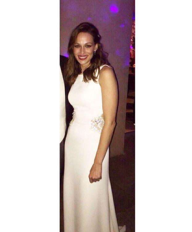 Foto: Eva González posa durante su baile nupcial con su segundo vestido