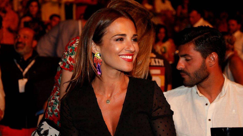 Paula Echevarría y Miguel Torres durante el concierto. (Starlite)