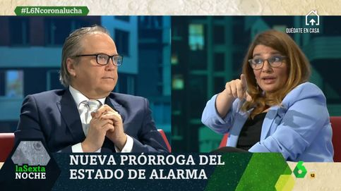 María Claver, a la yugular de Antonio Miguel Carmona en 'La Sexta noche': ¿Cómo tienes la indecencia?