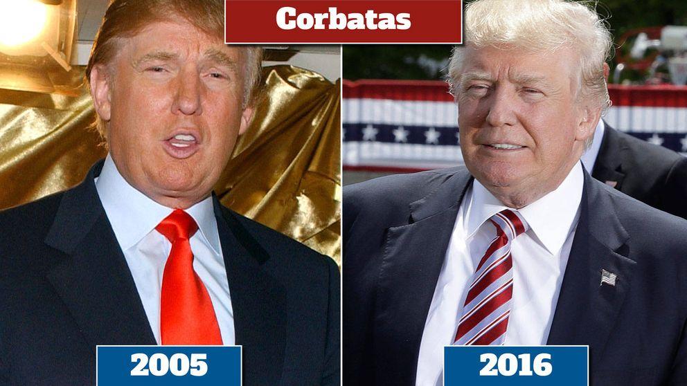 La metamorfosis de Trump: así ha sido su proceso de chapa y pintura