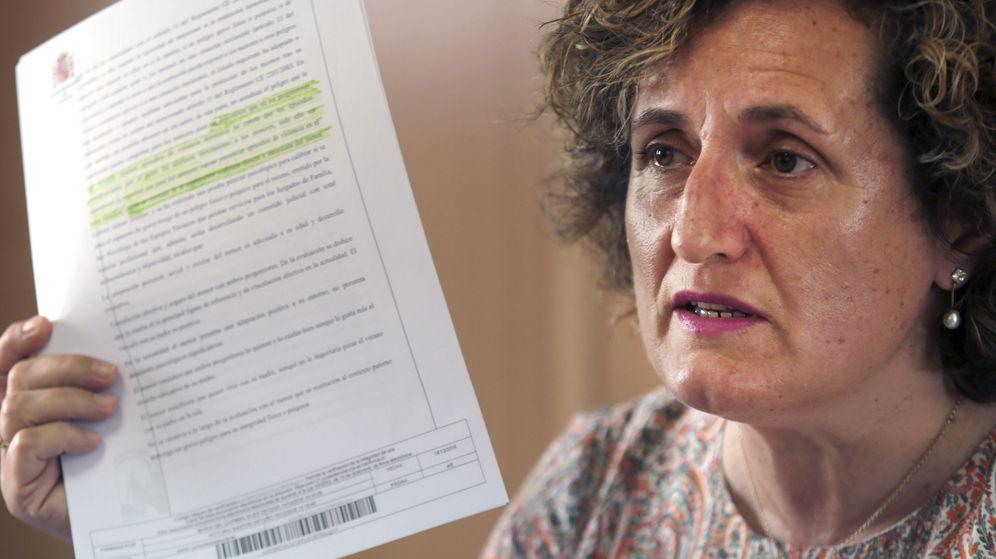 Foto: Francisca Granados, la asesora jurídica del Centro de la Mujer de Maracena (Granada) que ha atendido a Juana Rivas. (EFE)